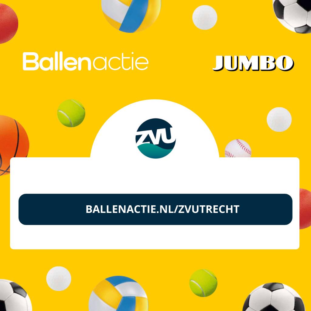 ZV Utrecht Ballen actie # Jumbo